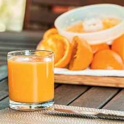Strawberry Girl Orange Juice