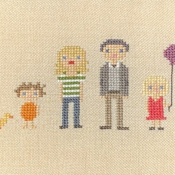 Family in Stitch